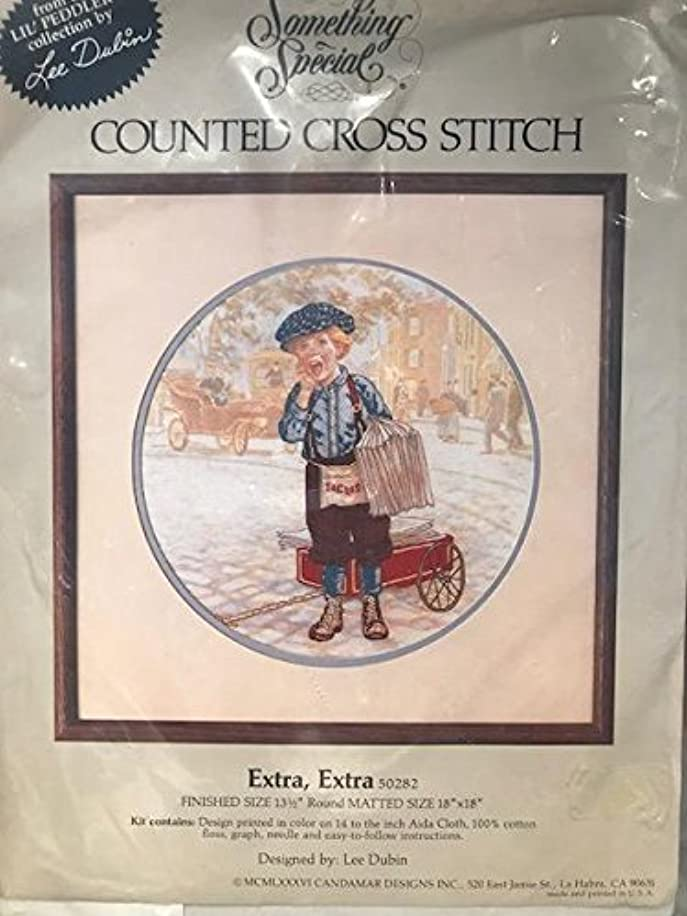 Something Special EXTRA EXTRA Counted Cross Stitch Kit 13.5