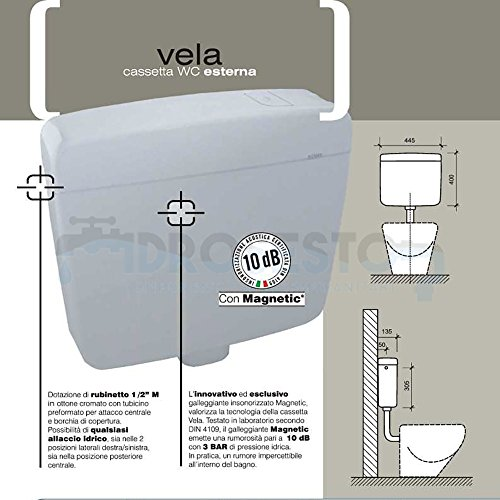 Kassette WC Externe Vela Reifen