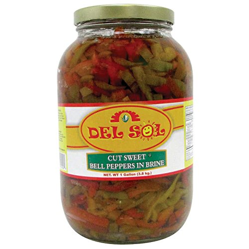 Del Sol 1 Gallon Cut Sweet Peppers By TableTop King
