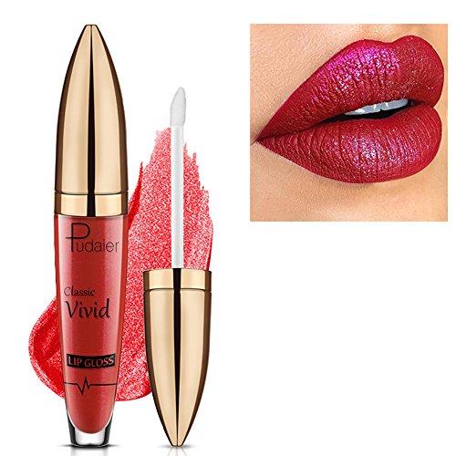 Auifor❤ Waterproof vloeibare lippenstift met fluweelachtige matte lipgloss. 15#