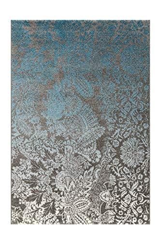 Arte Espina Teppich Move 4459 Grau/Blau/Creme 80cm x 150cm