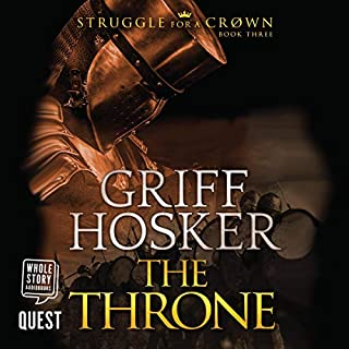 The Throne audiobook cover art