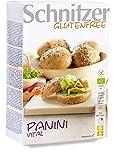 Schnitzer Panini Vital -Glutenfrei- (2x125g) 250g Bio Brot, 2er Pack (2 x 250 g)