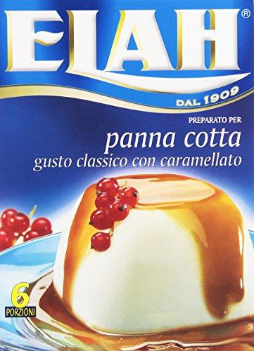 Elah Preparato per Pannacotta, Gusto Classico con Caramellato, 90g