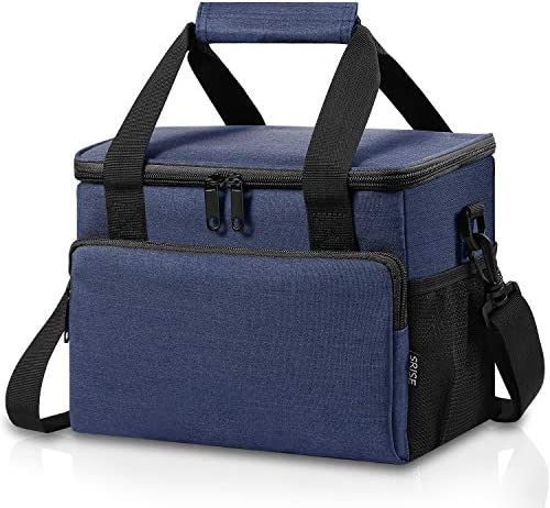 Adult Lunch Box Insulated Lunch Bag for Men Women Large Lunch Cooler Tote with Adjustable Shoulder product image