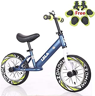 """Kids Balance Bike, No Pedal Baby Mini Bike, Ride on Scooter, 12"""" Bicycle for Children Riding Toy Baby Walker Push Car Walking Buddy Bike for Baby Kid Toddler Indoor Outdoor Activities Ages 3-6"""