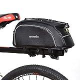 Lixada Fahrradtaschen Gepäckträger Fahrradkoffer 7L Wasserfeste Fahrradtasche mit Wasserdichter...