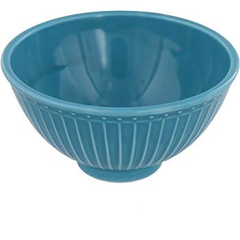 テーブルウェアイースト お茶碗 カラフルしのぎ 和食器 飯碗 和食器 カフェ食器(ターコイズ)