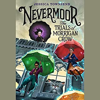 Nevermoor: The Trials of Morrigan Crow cover art