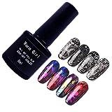 Adhesivo para transferencia de uñas, 8 ml Pegamento para uñas para gel de uñas Star Manicure Foil Sticker Transferencia adhesiva para salón de belleza y hogar