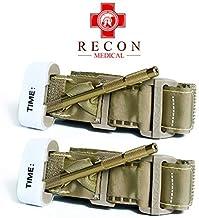 Product Name: Recon Medical TANTQTourniquet - (TAN) Gen 3 Mil-Spec Kevlar Metal Windlass Aluminum First Aid Tactical Swat ...