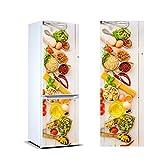 Pegatinas Vinilo para Frigorífico Verduras | Varias Medidas 185x70cm | Adhesivo Resistente y de Fácil Aplicación | Pegatina Adhesiva Decorativa de Diseño Elegante
