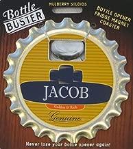 2 Sets of Bottle Opener Fridge Magnet Coaster All in One - Jacob