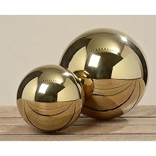 Boltze Kugel Galaxy D13cm Gold Edelstahl