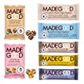 MadeGood Healthy Snacks Variety Pack, 40 Ct - Organic Assortment of Granola Bars, Granola Mini Snack Packs, Crispy Squares; Individually Wrapped Snacks