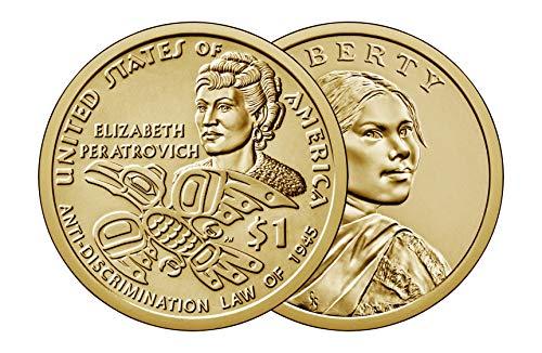 2020 P & D Sacagawea Dollar Native American Brilliant Uncirculated