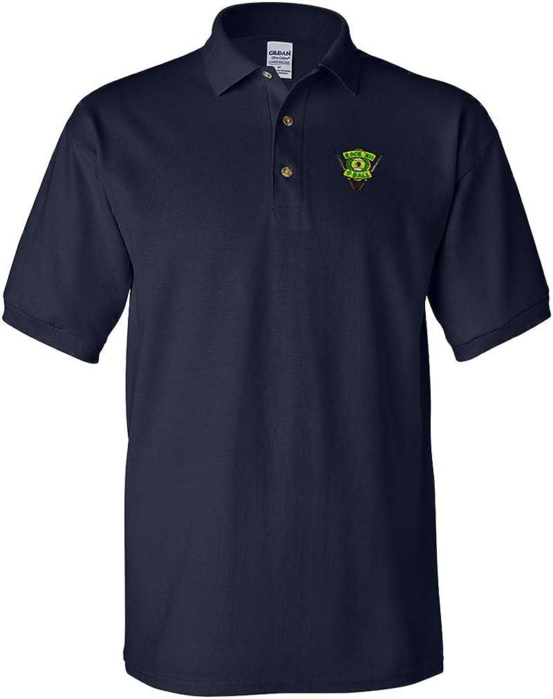 Polo Shirts for San Luxury Antonio Mall Men Sport Billiards Embroidery I Ball Pool Cotto