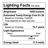 Photo #7: Motion Sensor Light Bulb by Sengled With Waterproof 5000K 1050LM And Outdoor LED Light Bulbs 4 Pack