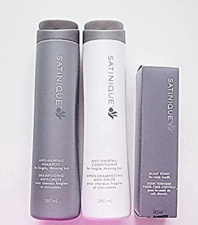 Amway Anti-HAIRFALL Sets, Satinique Shampoo, Conditioner and Scalp Tonic