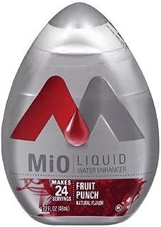 Mio Liquid Water Enhancer Fruit Punch 1.62 Fl Oz (Pack of 4)