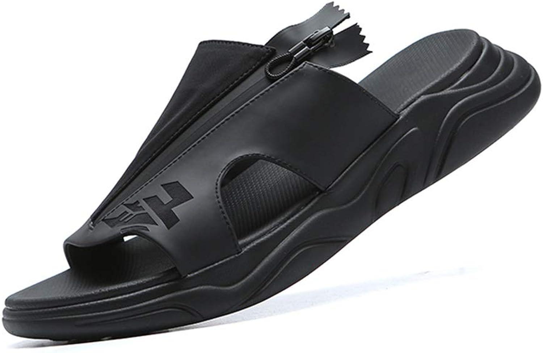 shoes Slippers New Outdoor Sandals Men's Flip-Flops Summer Sandals Beach Wear Trend Men's Men's Sandals Sandals Personality Wild Sandals Non-Slip Casual (color )(Size )