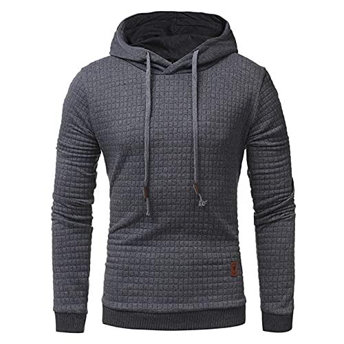 Homme Sweat-Shirt à Capuche Manches Longues Pulls Sweat Capuche Tops Veste Manteau Hoodie Hiver épais Manteau Chaud