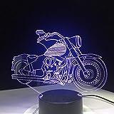 Die neueste Motorrad Motor Fan Geschenk Fernbedienung Illusion nachtlicht Farbe kreative stromversorgung Schreibtisch Tisch Lava Lampe