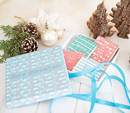 Geldgeschenk Weihnachten - eine schöne Verpackung für Geld oder Gutschein