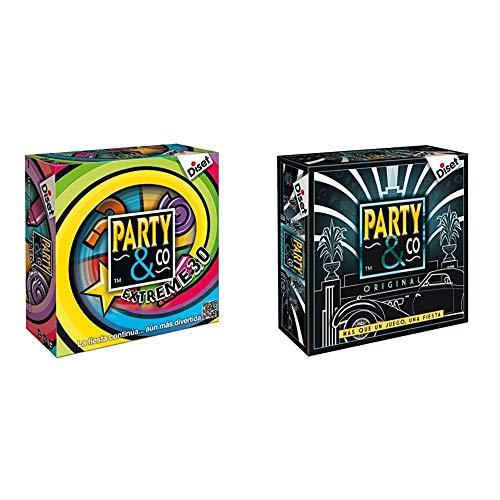 Diset - Party & Co Extreme 3.0 - Juego de Mesa Adulto a Partir de 16 años + Party & Co Original - Juego Adulto a Partir de 14 años