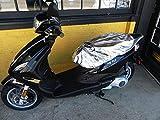 CoolAss Large Dual Saddle Heat Reflective Waterproof Rain Scooter Motorbike Seat Cover