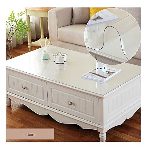 &Nappes Nappe rectangulaire imperméable en PVC - Nappe transparente en PVC nappe de table (Couleur : C, taille : 65 * 120cm)