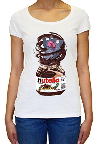 Nutella Crazy Cat Women's T-Shirt X-Large