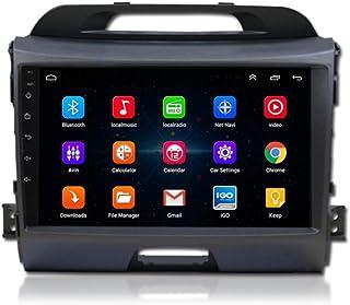 XMZWD Auto Multimedia Player Android 9.1 Auto Navigatiesysteem 9 inch touchscreen autoradio voor KIA Sportage R 2011-2017 ...
