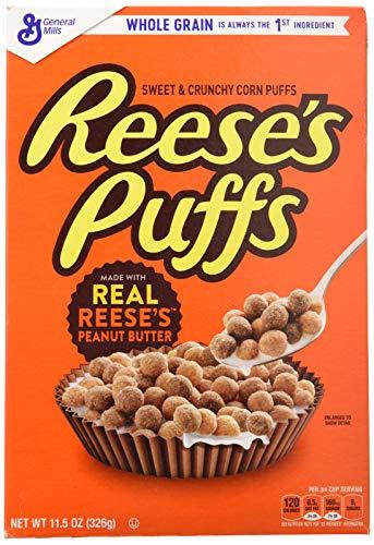 Reese's Puffs - Cereali al burro d'arachidi - 326 grammi