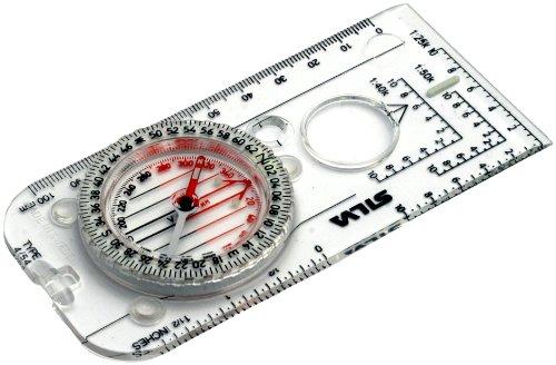Silva Militärkompass Compass 4 Militaire, 6400 Strich/360°