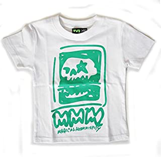 【MAGICAL MOSH MISFITS】 マジカルモッシュミスフィッツ 【らくがきもっしゅみすふぃっつ TEE (KIDS)】 しろ MxMxM マモミ M1311 Tシャツ 子供 キッズ こぐまーく 子供服
