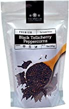The Spice Lab Peppercorns –Tellicherry Whole Black Peppercorns for Grinder Refill - 1 Pound Bag - Steam Sterilized Kosher Packed in the USA - All Natural Peppercorns - Pepper Grinder / Pepper Mill