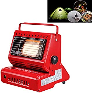 XUE XUEJIONG Multifunctional Portable Outdoor Camping Trip Gas Heater Gas Stove Burner, Powered by Single Gas Tank (Not Included) XUE