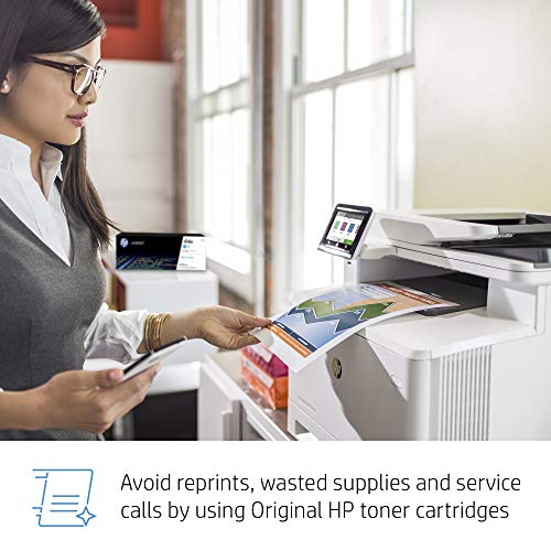 HP Color LaserJet Pro Multifunction M479fdn Laser Printer with One-Year, Next-Business Day, Onsite Warranty, Works with Alexa (W1A79A) – Built-in Ethernet Photo #5