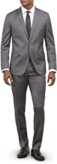 Kenneth Cole REACTION Men's Skinny Fit Stretch Finished...