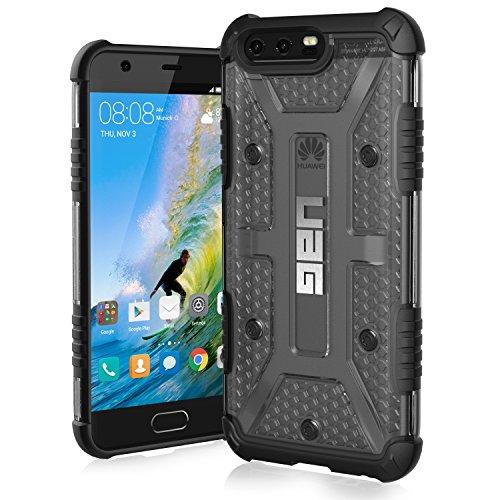 Urban Armor Gear Plasma Schutzhülle nach US-Militärstandard für Huawei P10 - transparent [Verstärkte Ecken | Sturzfest | Antistatisch | Vergrößerte Tasten] - HP10-L-IC