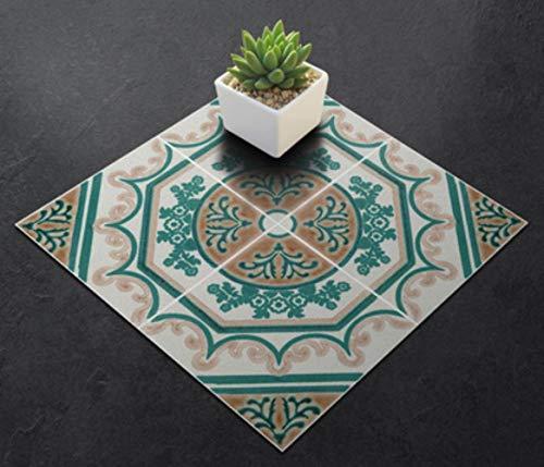 20 Stks/Set Zelfklevende PVC Keramische Tegel Behang Waterdicht Contact Papier Art Diagonale Vloer Stickers DIY Huis Decor Muren 20PCS Fk03
