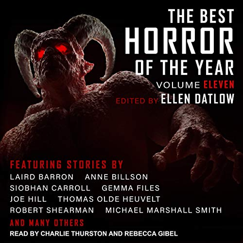The Best Horror of the Year: Volume Eleven audiobook cover art