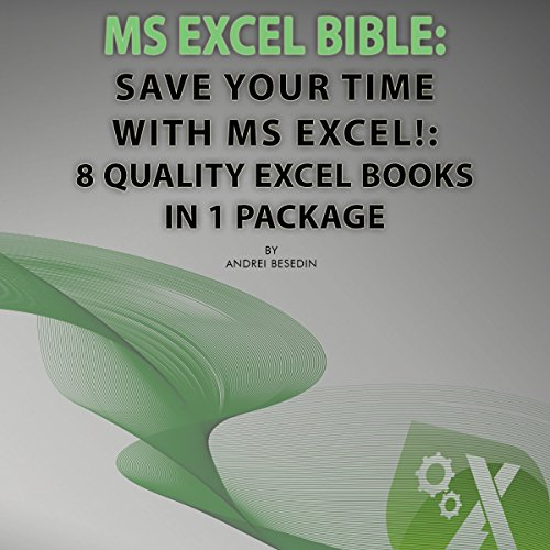 MS Excel Bible: Save Your Time with MS Excel! audiobook cover art