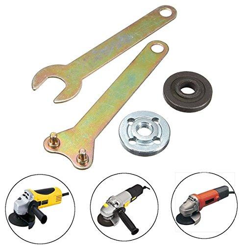 wrench for dewalt grinders Grinder 100 Flange Lock Nut Wrench for Dewalt Milwaukee Makita BLack & Decker Angle Grinder