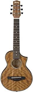 Ibanez EWP14OPN Exotic Wood Piccolo Acoustic Guitar Natural