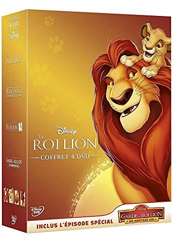 Le Roi Lion-Coffret 4 DVD