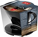 Melitta 217557 Coffee Holder for Filter Bags/Coffee Filter 1 x 2 Standard Plastic Black
