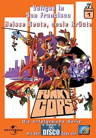 Funky Cops 1 - Vollgas in San Francisco - Heisse Beute, coole Bräute