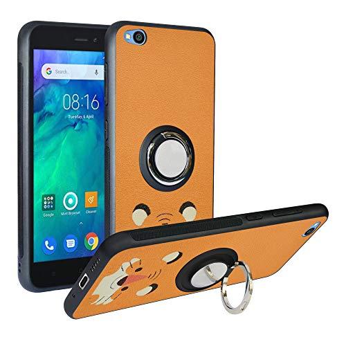Funda para Xiaomi Redmi Go, Fashion Design [Antigolpes] con 360 Anillo iman Soporte, Resistente a los arañazos TPU Funda Protectora Case para Redmi Go Cover,Tiger